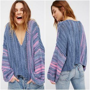 Free People Amethyst Pullover Sweater X-Small